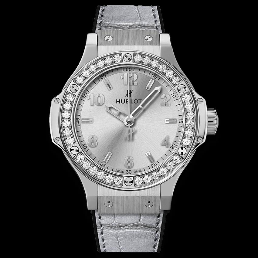 ウブロ ビッグ・バン モノクローム                                                              スチール ダイヤモンド