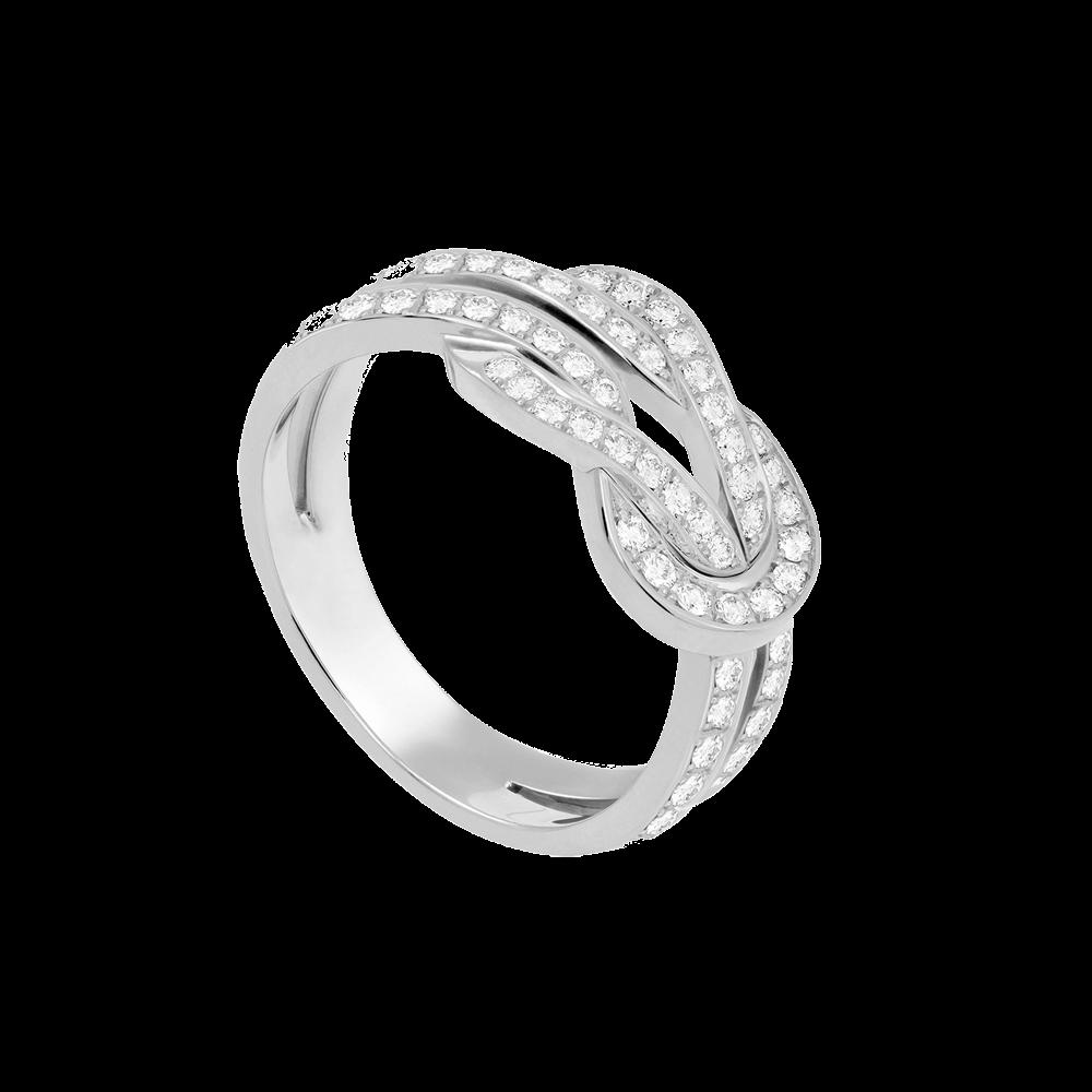フレッド シャンス アンフィニ MM リング                                                              ホワイトゴールド ダイヤモンド