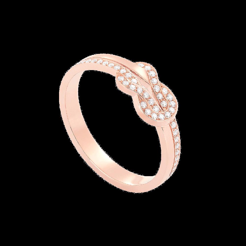 フレッド シャンス アンフィニ リング                                                              ピンクゴールド ダイヤモンド